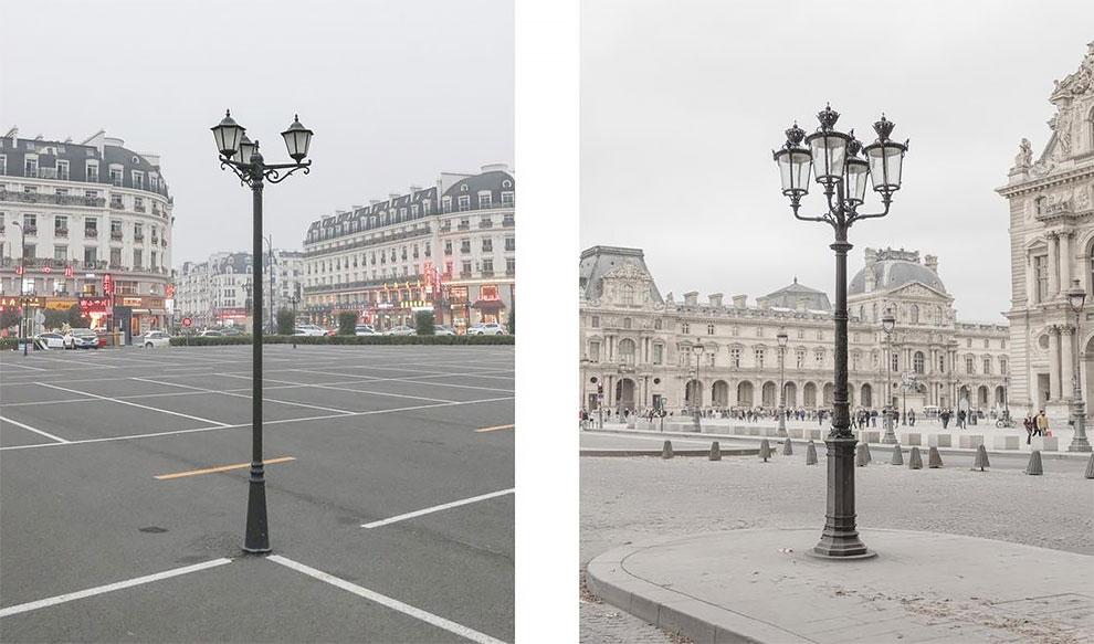 Французский и китайский Париж: найдите 10 отличий Французский и китайский Париж: найдите 10 отличий 14 33