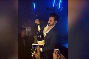 Три литра вдребезги: мужчина уронил бутылку за $42 тыс.