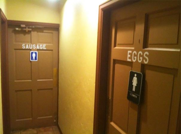 Бла-бла-бла, или Самые креативные туалетные знаки Бла-бла-бла, или Самые креативные туалетные знаки 16 2