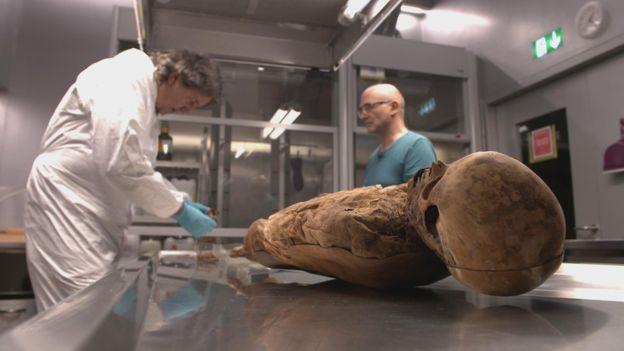 Швейцарские ученые установили потомков мумии XVIII века