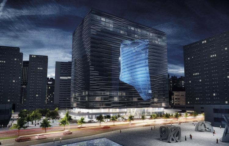 В Дубае построят здание с дыркой