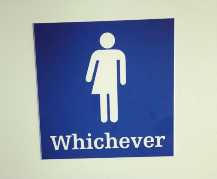 Бла-бла-бла, или Самые креативные туалетные знаки Бла-бла-бла, или Самые креативные туалетные знаки 5 14