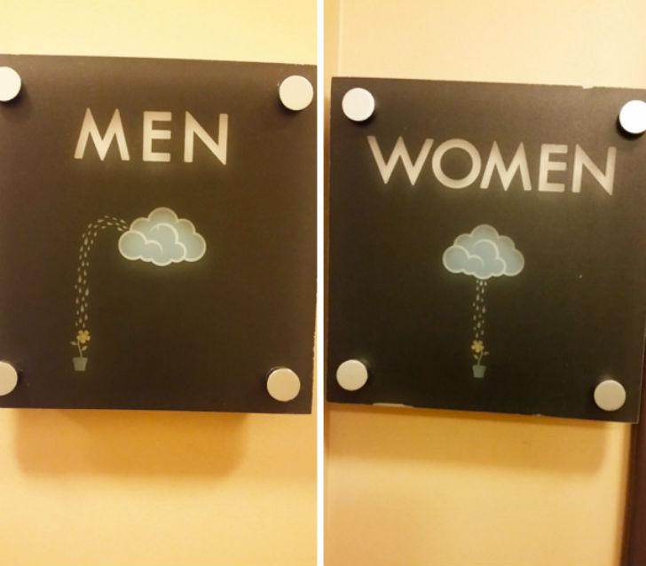 Бла-бла-бла, или Самые креативные туалетные знаки Бла-бла-бла, или Самые креативные туалетные знаки 6 13