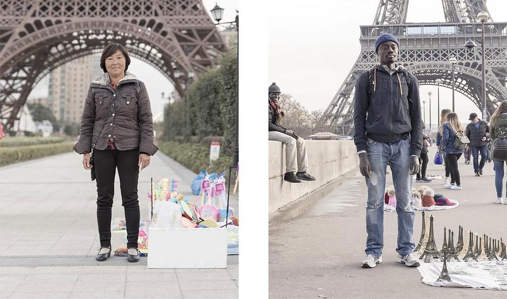 Французский и китайский Париж: найдите 10 отличий Французский и китайский Париж: найдите 10 отличий 6 53