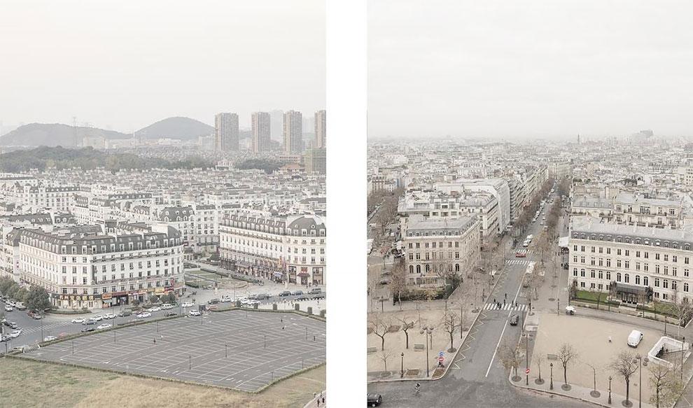 Французский и китайский Париж: найдите 10 отличий Французский и китайский Париж: найдите 10 отличий 8 46