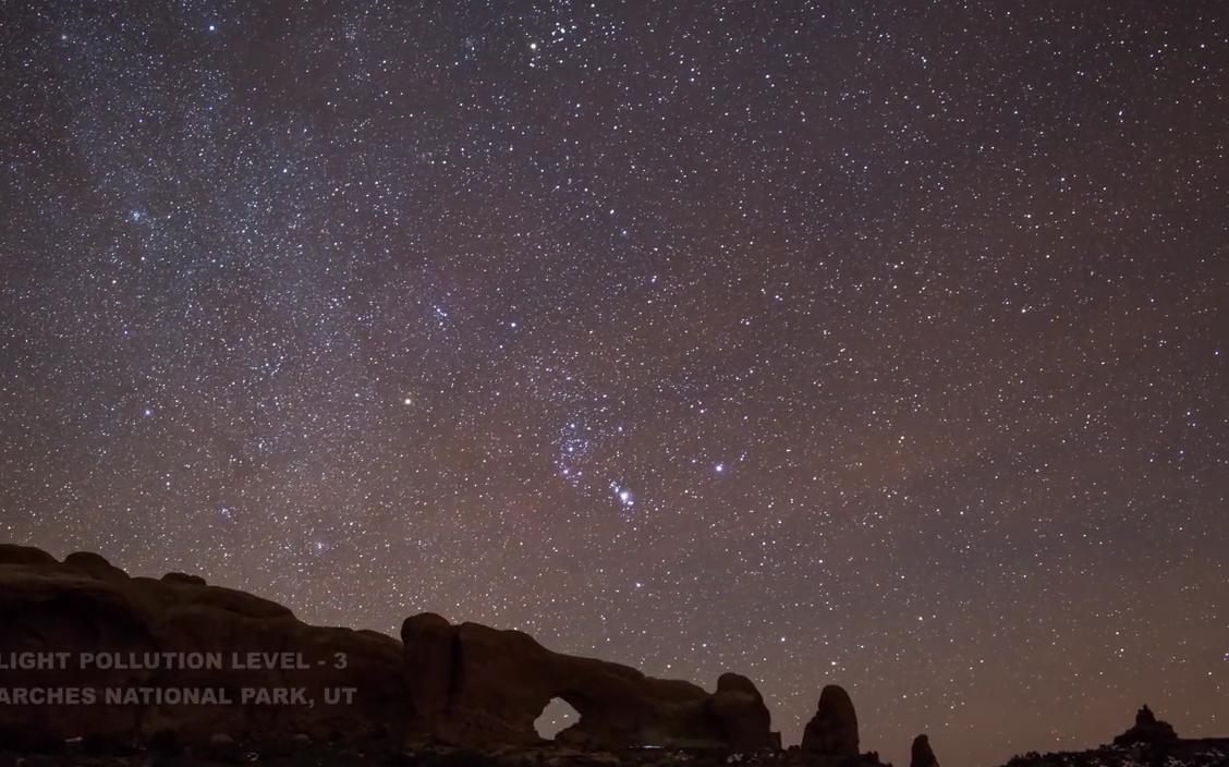 Как световое загрязнение крадет у горожан звезды