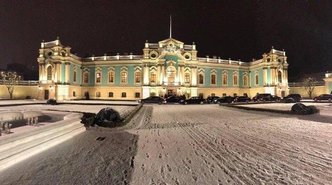 В Киеве после 10-летнего перерыва снова открыли Мариинский дворец