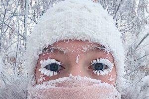 В Якутии температура упала до минус 70