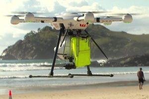 В Австралии дрон впервые в истории спас утопающих