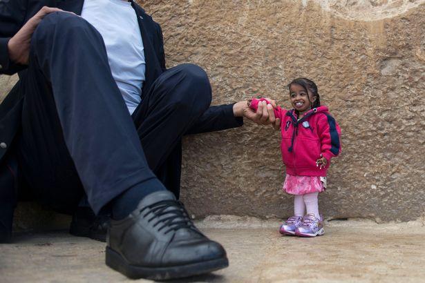 В Египте мужчина встретил женщину на 2 метра ниже его.Вокруг Света. Украина