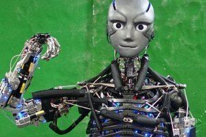Ученые создали робота, который потеет во время тренировки