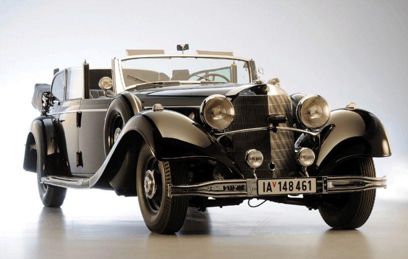 ТОП-15 фактов о Mercedes Гитлера, который выставили на торги