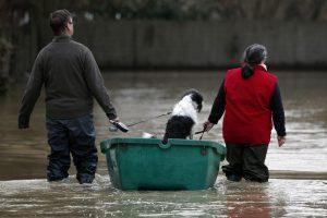 Уровень воды в Сене достиг пика