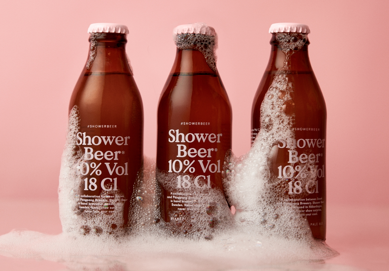 Шведы придумали пиво для душа