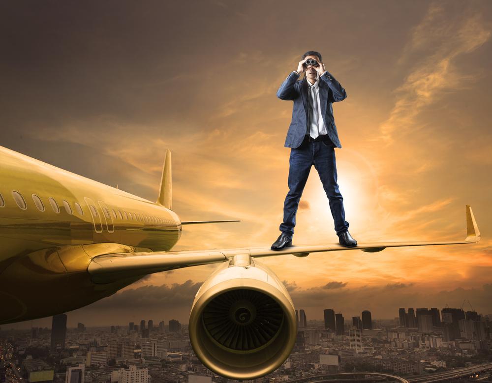 В Испании нетерпеливый пассажир Ryanair покинул самолет незаконным способом