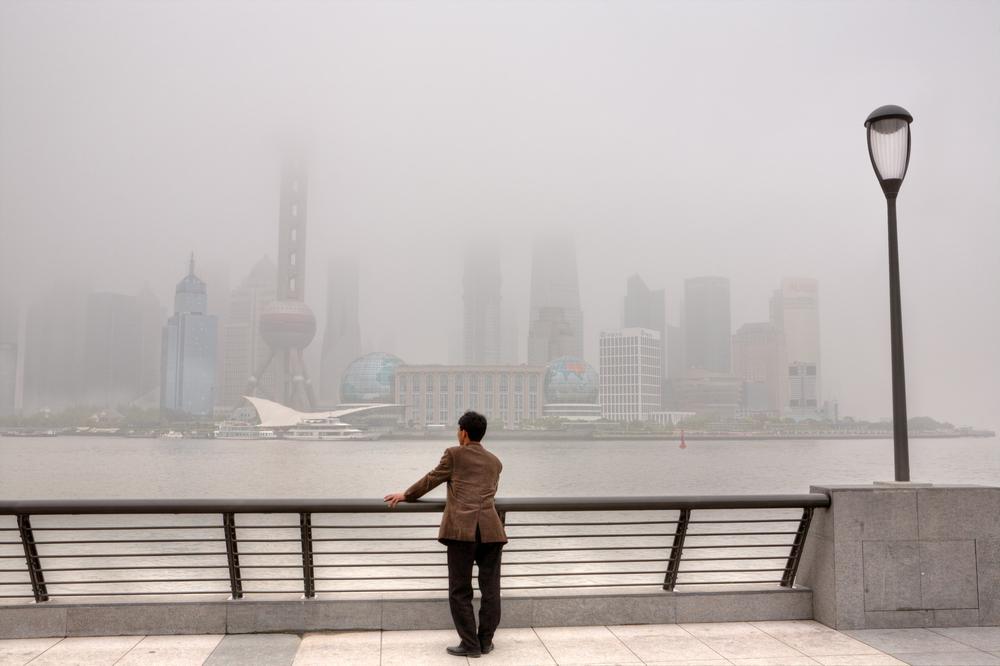 В Китае построили самый большой в мире очиститель воздуха для борьбы со смогом