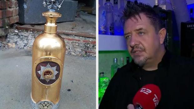 Украденную в Дании бутылку водки за миллион евро нашли пустой.Вокруг Света. Украина