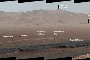NASA опубликовало панорамное видео марсохода Curiosity