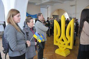 В Киеве открылась выставка к 100-летию герба Украины