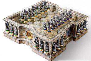 В продажу поступили шахматы по мотивам «Властелина колец»