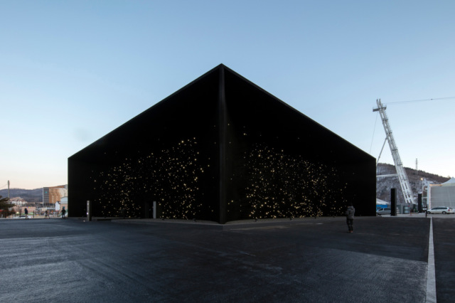 В Пхенчхане открывается самое темное здание в мире.Вокруг Света. Украина