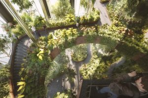 В Сингапуре строят небоскреб, заросший зеленью