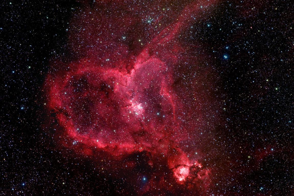 NASA показало самые романтичные фото космоса.Вокруг Света. Украина