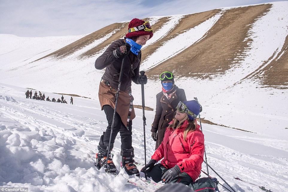 горнолыжная школа Как работает первая женская горнолыжная школа в Афганистане 49236F4600000578 5386007 image a 64 1518534731019