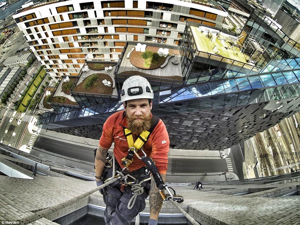 Восхождение на небоскребы: как альпинисты покоряют высоты Норвегии