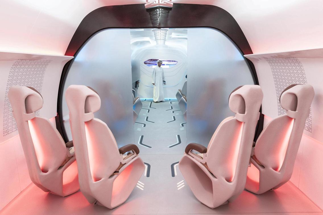 В Дубае показали прототип Hyperloop