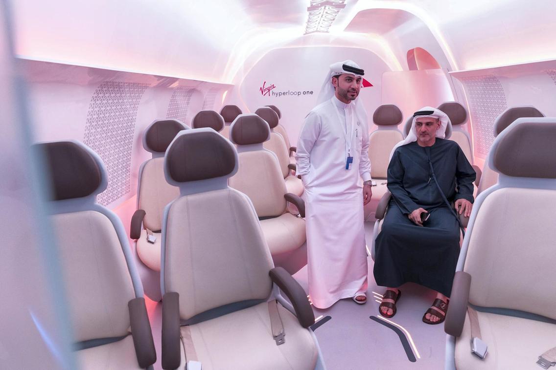 В Дубае показали прототип hyperloop В Дубае показали прототип Hyperloop AR 2202 Hyperloop 13