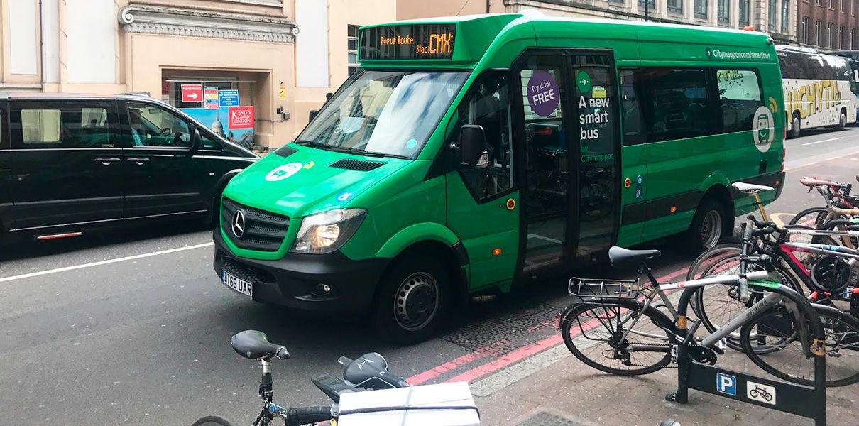 В Лондоне общественный транспорт будут вызвать как такси