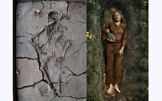Археологи нашли 6000-летнего ребенка,