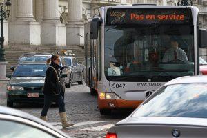 В Брюсселе общественный транспорт станет бесплатным из-за плохой экологии