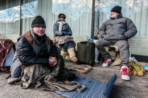 В Брюсселе из-за морозов будут задерживать бездомных