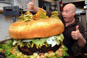 Рестораны с самыми большими порциями в мире