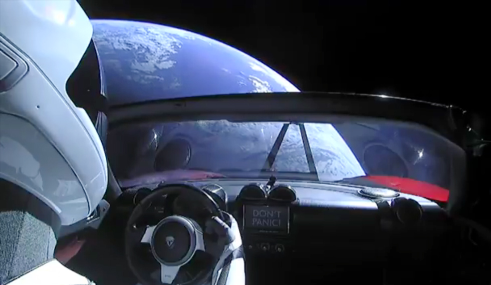 На борту Родстера Маска спрятан тайный груз
