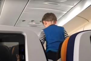 8 часов крика: трехлетний ребенок превратил перелет в кошмар (видео)