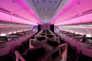 У Virgin Atlantic появились места для влюбленных