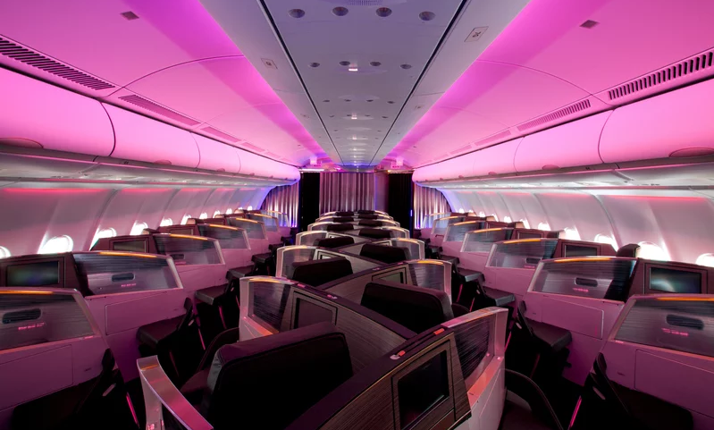 У Virgin Atlantic появились места для влюбленных.Вокруг Света. Украина