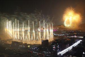 Олимпийский огонь уже горит