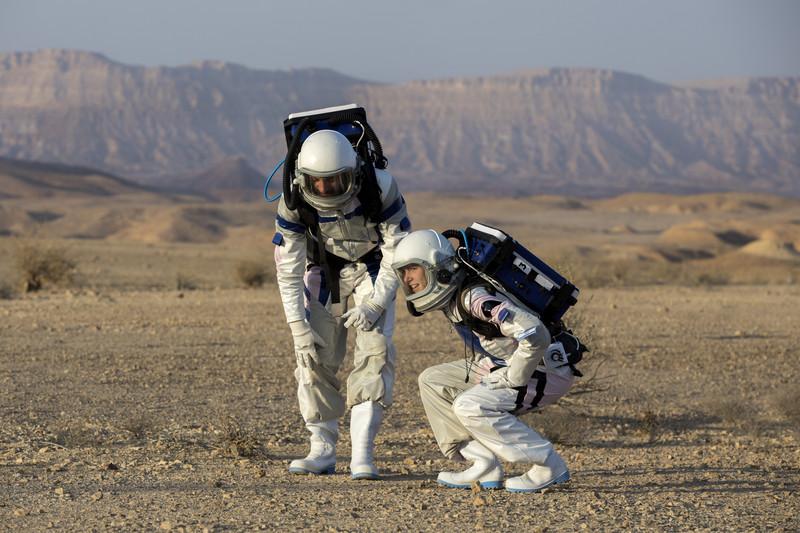 Марсианская гонка: израильские астронавты