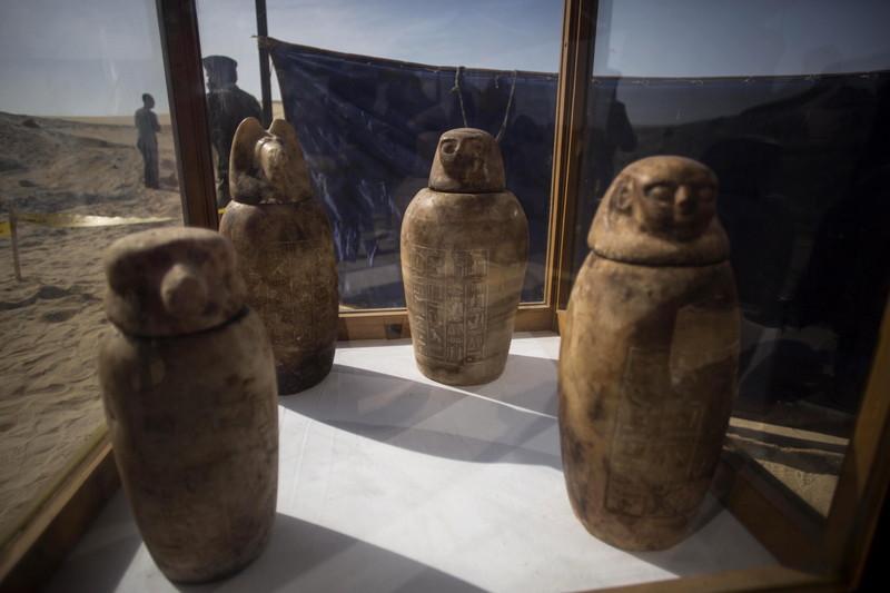 В долине Нила обнаружили 40 мумий жрецов Тота В долине Нила обнаружили 40 мумий жрецов Тота p 54153529