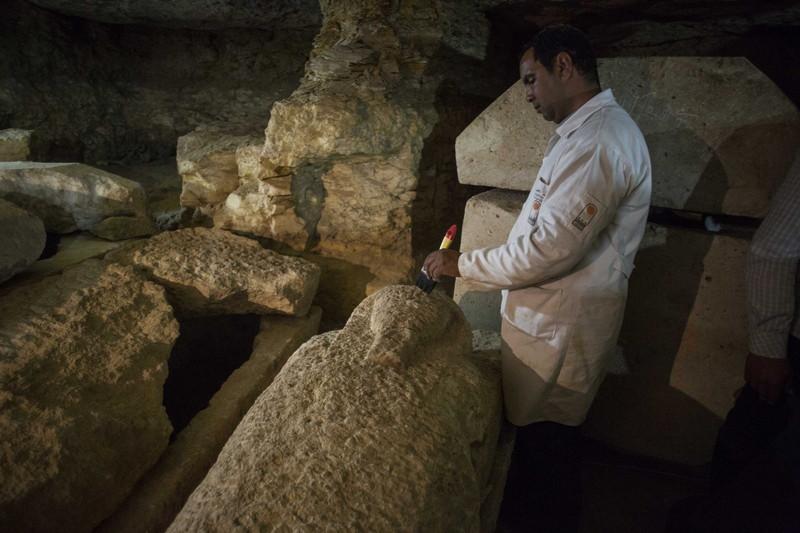 В долине Нила обнаружили 40 мумий жрецов Тота В долине Нила обнаружили 40 мумий жрецов Тота p 54153530