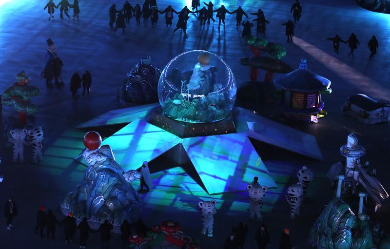 Церемония закрытия Зимних Олимпийских игр-2018: яркие фото Церемония закрытия Зимних Олимпийских игр-2018: яркие фото p 54156865