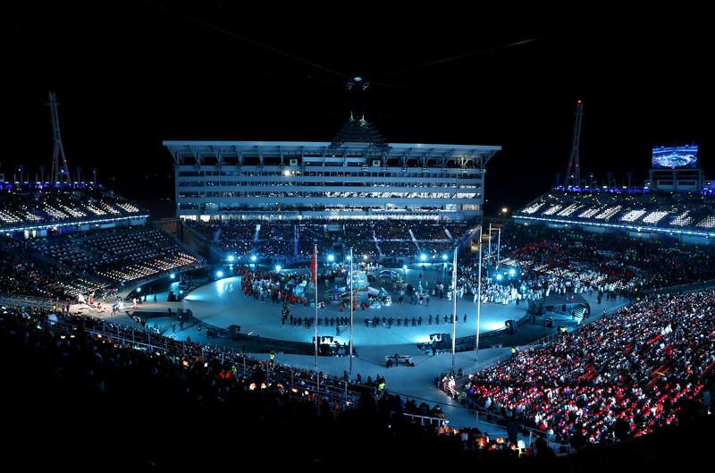 Церемония закрытия Зимних Олимпийских игр-2018: яркие фото Церемония закрытия Зимних Олимпийских игр-2018: яркие фото p 54156877