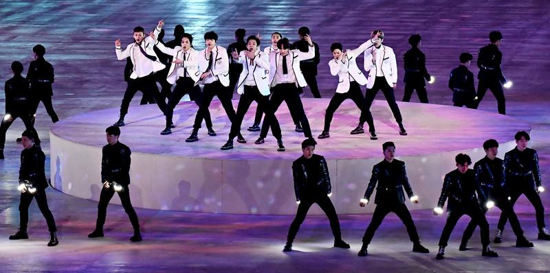 Церемония закрытия Зимних Олимпийских игр-2018: яркие фото Церемония закрытия Зимних Олимпийских игр-2018: яркие фото p 54156892