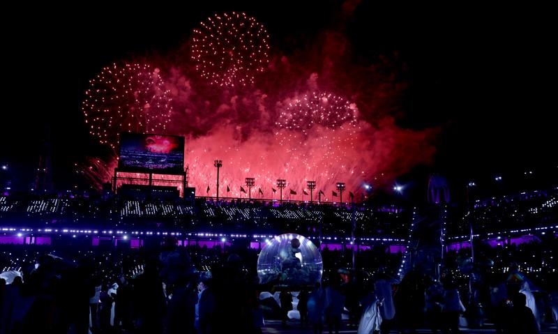 Церемония закрытия Зимних Олимпийских игр-2018: яркие фото Церемония закрытия Зимних Олимпийских игр-2018: яркие фото p 54156898