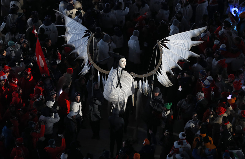Церемония закрытия Зимних Олимпийских игр-2018: яркие фото