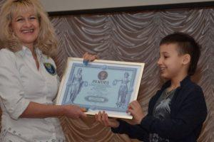 Восьмилетний украинец установил рекорд